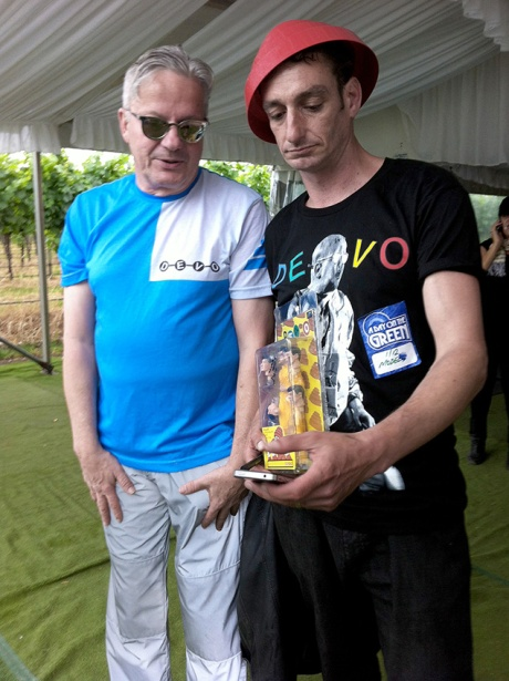 DEVO WITH FAN B