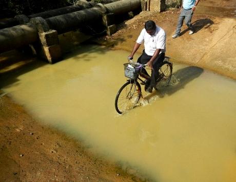 WATER DEPTH 1B