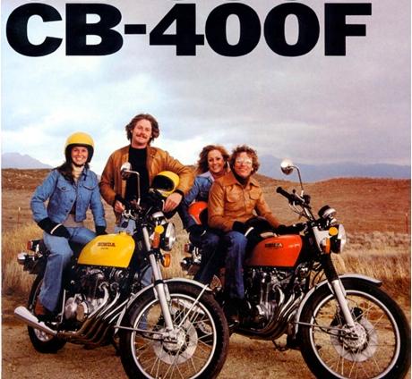 CB 400f poster