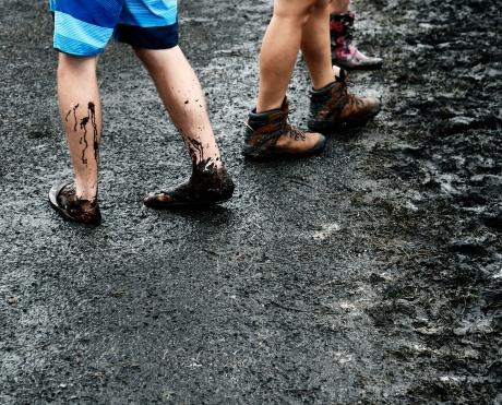 mud splat B