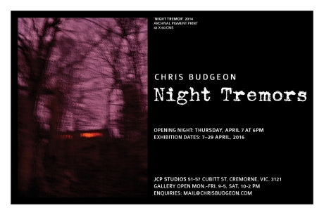 NIGHT TREMORS INVITE